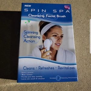 Electric Spin Brush Face Exfoliation